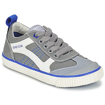 Sko Dreng Lave sneakers Geox J KIWI B. J Grå