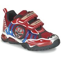 Sko Dreng Lave sneakers Geox J SHUTTLE B. B Rød