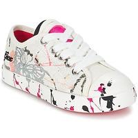 Sko Børn Lave sneakers Geox J CIAK G. D Hvid / Pink