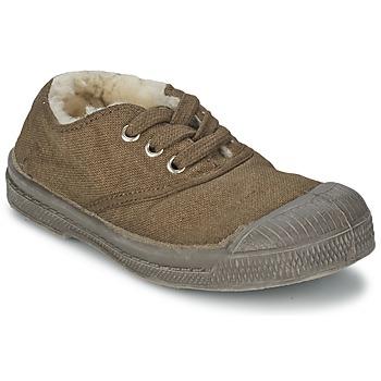 Sko Børn Lave sneakers Bensimon TENNIS FOURREES Brun