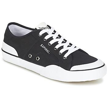 Sko Herre Lave sneakers Kaporal BUCKET Sort