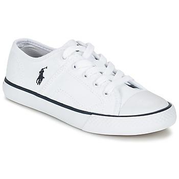 Sko Børn Lave sneakers Ralph Lauren DYLAND Hvid