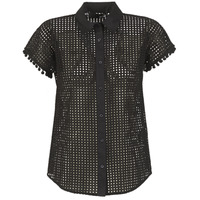 textil Dame Skjorter / Skjortebluser Love Moschino WCC0480 Sort