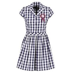 textil Dame Korte kjoler Love Moschino WVF3001 Blå / Hvid