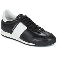Sko Herre Lave sneakers Roberto Cavalli 2042A Sort / Hvid