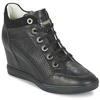 Sko Dame Høje sneakers Geox ELENI C Sort