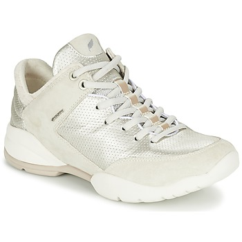 Sko Dame Lave sneakers Geox SFINGE A Hvid
