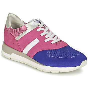 Sko Dame Lave sneakers Geox SHAHIRA A Pink / Violet
