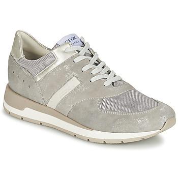 Sko Dame Lave sneakers Geox SHAHIRA A Grå