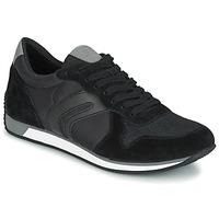 Sko Herre Lave sneakers Geox VINTO C Sort