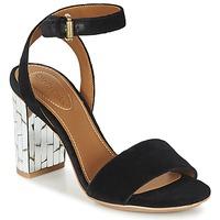 Sko Dame Sandaler See by Chloé SB28001 Sort / Velours