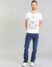textil Herre Lige jeans Replay WAITOM Marineblå