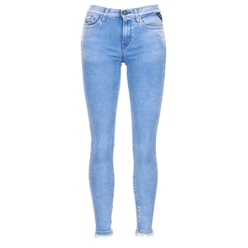 textil Dame Jeans - 3/4 & 7/8 Replay JOI Blå / Medium