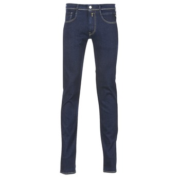 textil Herre Smalle jeans Replay WOUAPO Blå