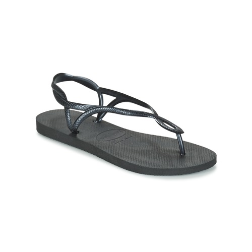 Sko Dame Flip flops Havaianas LUNA Sort