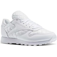 Sko Dame Lave sneakers Reebok Sport Classic Leather Quilted Pack Hvid