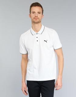 textil Herre Polo-t-shirts m. korte ærmer Puma PUMA HERO POLO Hvid
