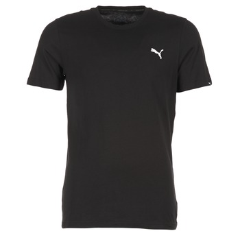 textil Herre T-shirts m. korte ærmer Puma ESS TEE Sort