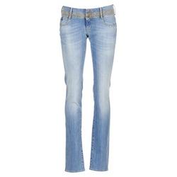 textil Dame Lige jeans Le Temps des Cerises 220 Blå / LYS
