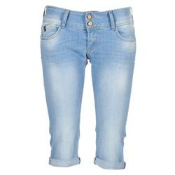textil Dame Jeans - 3/4 & 7/8 Le Temps des Cerises CHRISTIA Blå / LYS