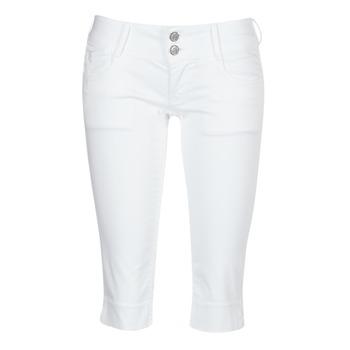 textil Dame Halvlange bukser Le Temps des Cerises NINA Hvid