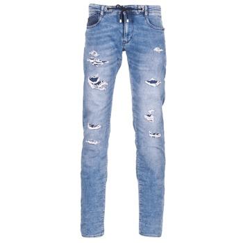 textil Herre Smalle jeans Le Temps des Cerises 711 JOGG Blå / Lys