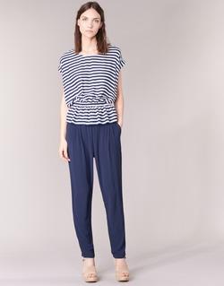 textil Dame Løstsiddende bukser / Haremsbukser Molly Bracken FODES Marineblå