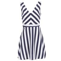 textil Dame Korte kjoler Molly Bracken TRODAK Marineblå / Hvid