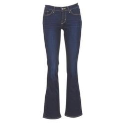 textil Dame Bootcut jeans Levi's 715 BOOTCUT Blå