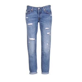 textil Dame Jeans - boyfriend Levi's 501 CT Radio / Stjerne