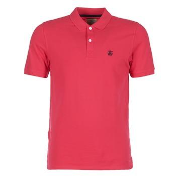textil Herre Polo-t-shirts m. korte ærmer Selected ARO Rød