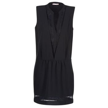 textil Dame Korte kjoler Les P'tites Bombes JOUNE Sort