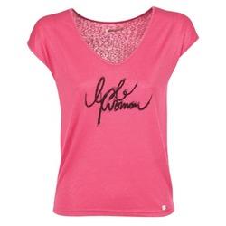 textil Dame T-shirts m. korte ærmer Les P'tites Bombes CHOUBERNE Pink