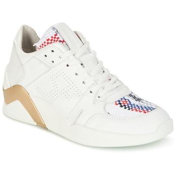 Sko Dame Høje sneakers Serafini CHICAGO Hvid / Guld