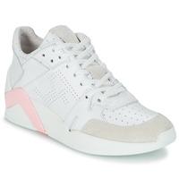 Sko Dame Høje sneakers Serafini CHICAGO Hvid / Pink
