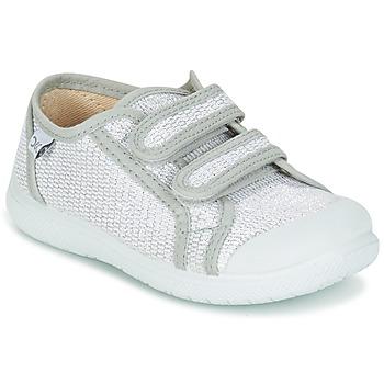 Sko Pige Lave sneakers Citrouille et Compagnie GLASSIA Sølv