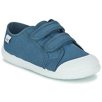 Sko Børn Lave sneakers Citrouille et Compagnie GLASSIA Blå