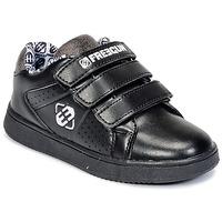 Sko Børn Lave sneakers Freegun FG ULSPORT Sort / Hvid
