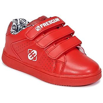Sko Børn Lave sneakers Freegun FG ULSPORT Rød / Hvid