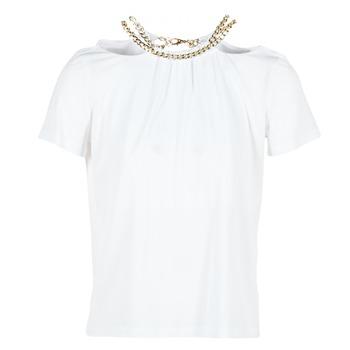 textil Dame Toppe / Bluser Versace Jeans B2HPB721 Hvid