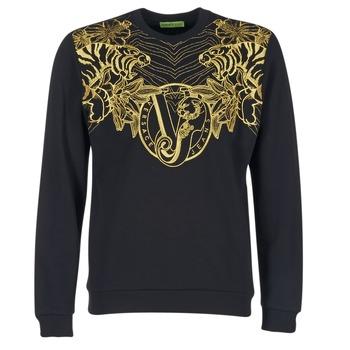 textil Herre Sweatshirts Versace Jeans B7GPB7F0 Sort