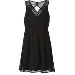 textil Dame Korte kjoler Vero Moda BIANCA Sort