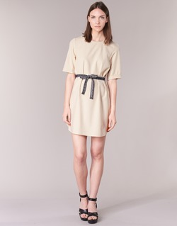 textil Dame Korte kjoler Vero Moda MILO SUKI BEIGE