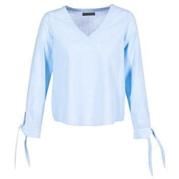 textil Dame Toppe / Bluser Vero Moda ELVA Blå