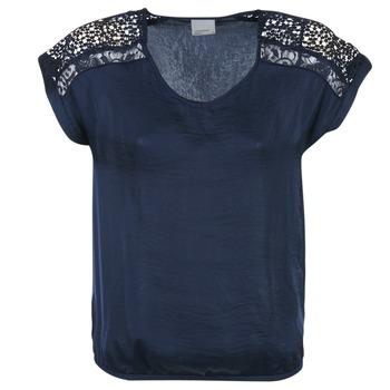 textil Dame Toppe / Bluser Vero Moda SATINI Marineblå