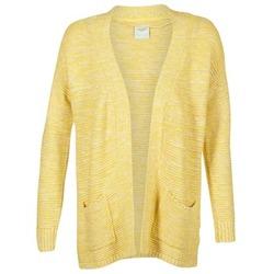 textil Dame Veste / Cardigans Vero Moda GERDA Gul