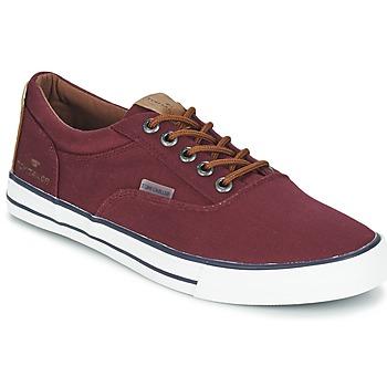 Sko Herre Lave sneakers Tom Tailor EXIBOU Bordeaux