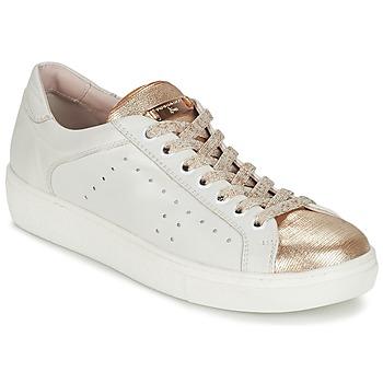 Sko Dame Lave sneakers Tosca Blu  Hvid / Guld