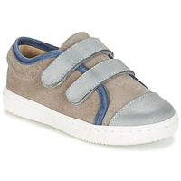 Sko Dreng Lave sneakers Citrouille et Compagnie GOUTOU Grå / Muldvarpegrå / Blå