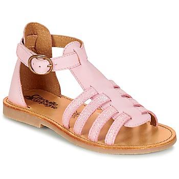 Sko Pige Sandaler Citrouille et Compagnie JASMA Pink